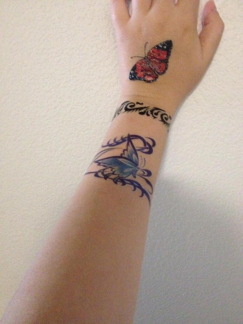 Fake tattoo art by goldenlion1997