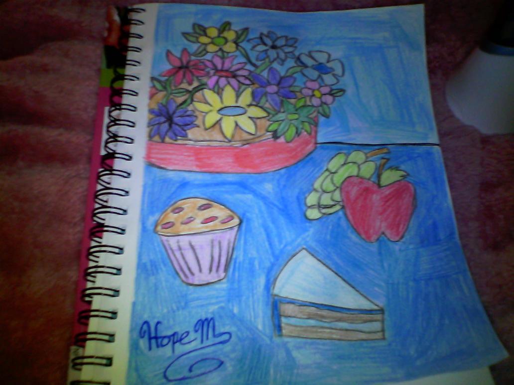 Food and Flowers by HopeCaliGirl24