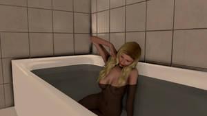 Stretching in bath