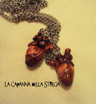 Heart pendant by Diazzina