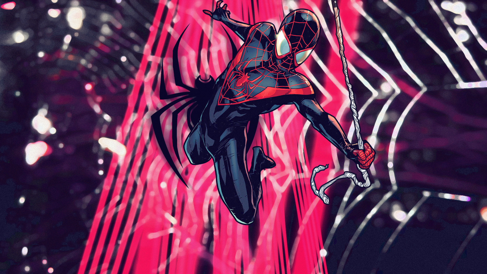 Ultimate Spider-Man: Miles | Wallpaper by Squiddytron