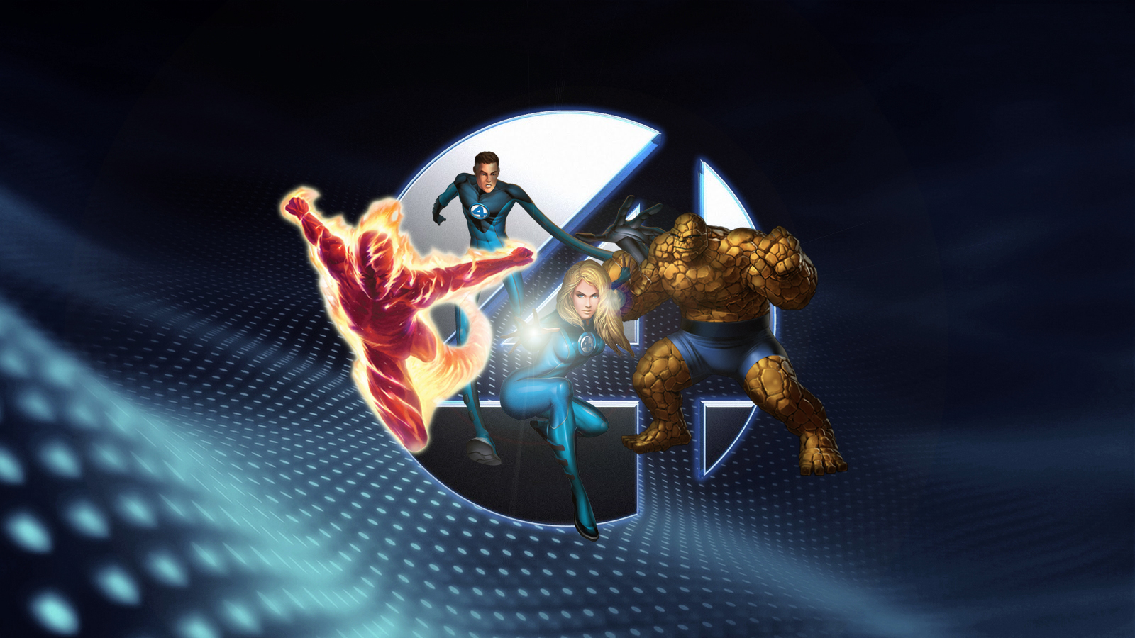 the fantastic four wallpaper by squiddytron on deviantart