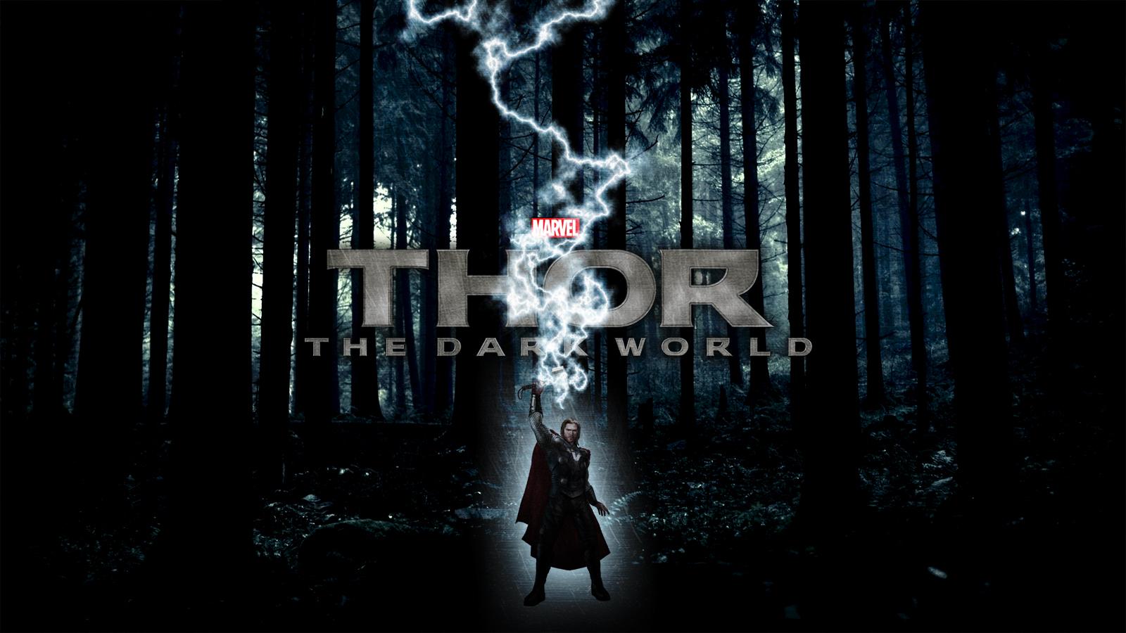 Thor The Dark World Wallpaper By Squiddytron On Deviantart