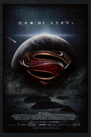 Man of Steel | Theatrical Poster by Squiddytron