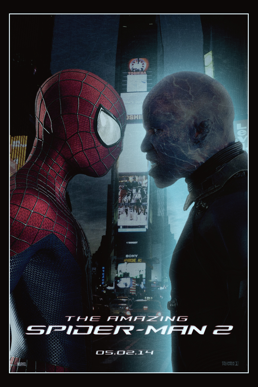 The Amazing Spider-Man 2 | Poster by Squiddytron