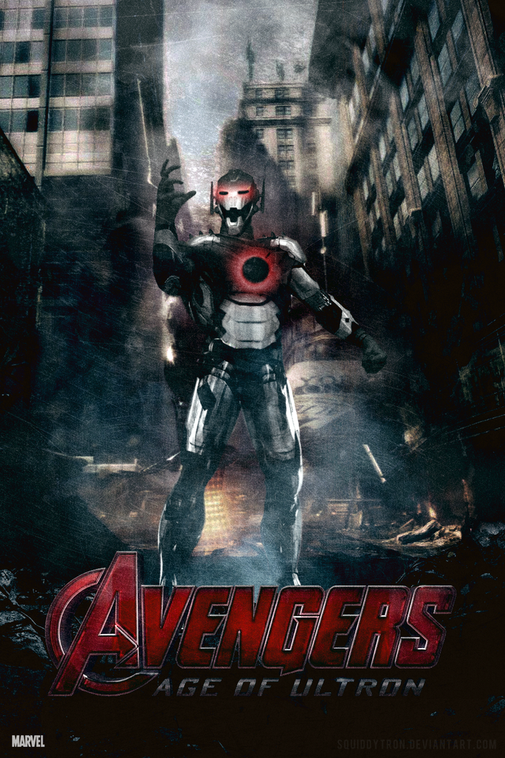 The Avengers: Age of Ultron | Poster by Squiddytron on ...