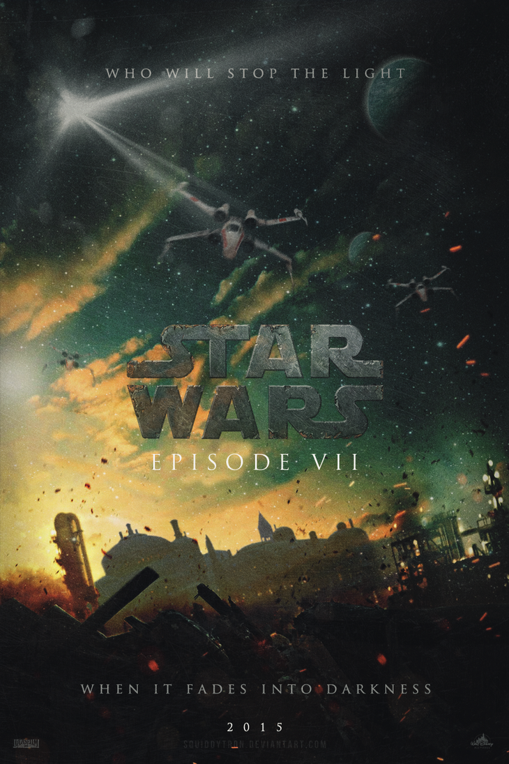 STAR WARS - Episode VII | Poster by Squiddytron