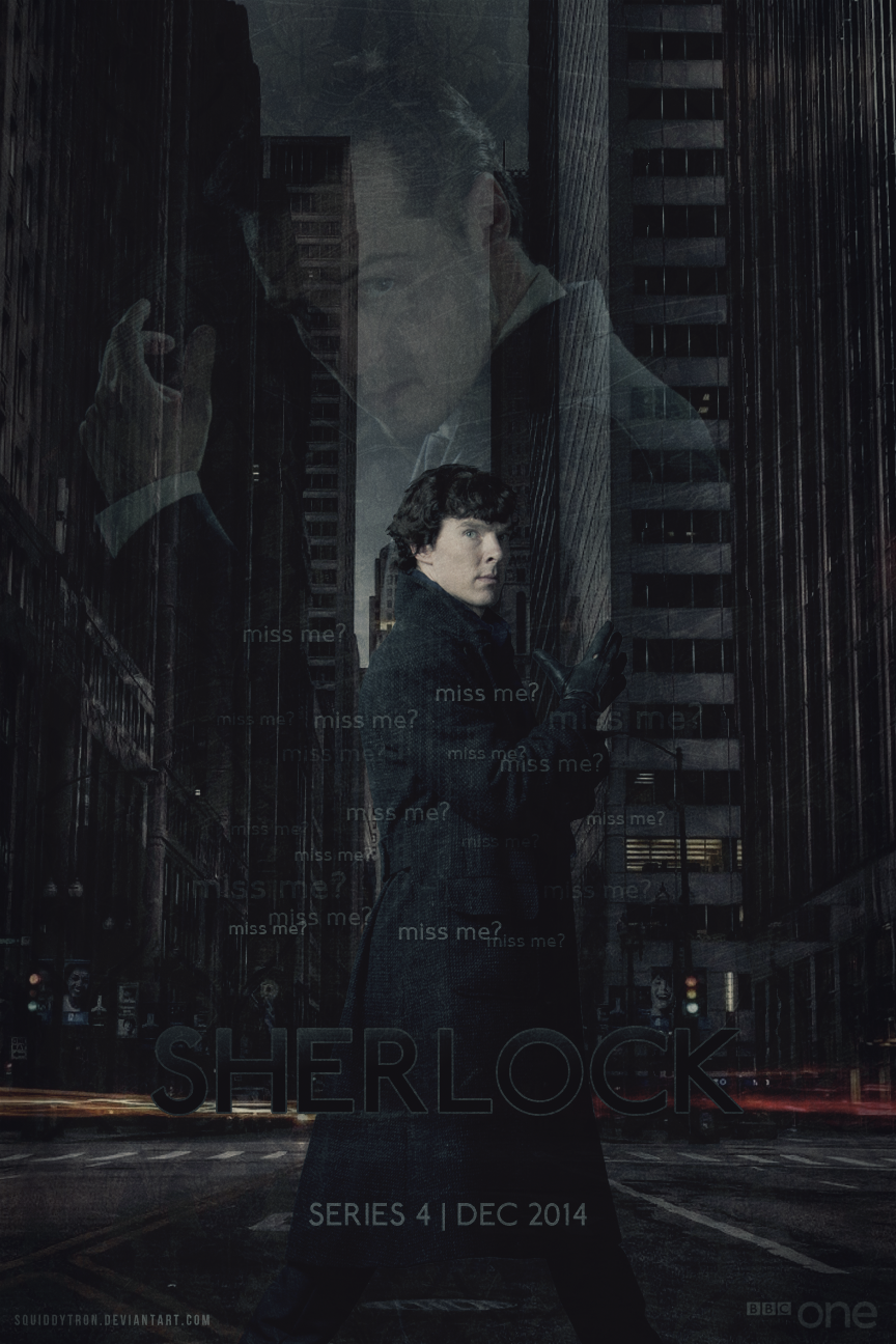 Sherlock Series 4 | Poster by Squiddytron