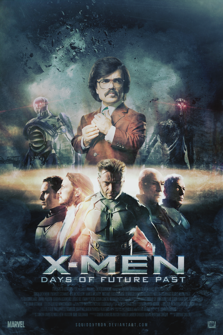 X-Men: Days of Future Past | Poster by Squiddytron on ...
