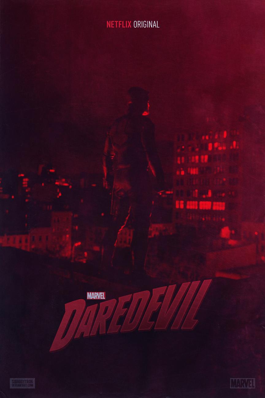 MARVEL's Daredevil | Poster by Squiddytron on DeviantArt