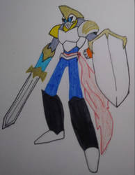 Jaune Arc: Gold Knight Defender