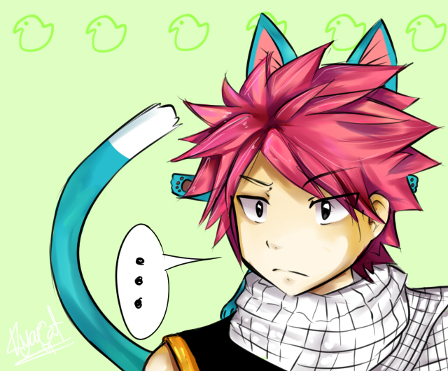 Fairytail natsu and happy by kya cat on deviantart - Fairy tail happy and natsu ...