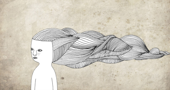 Loooong hair by Polkadotdoll