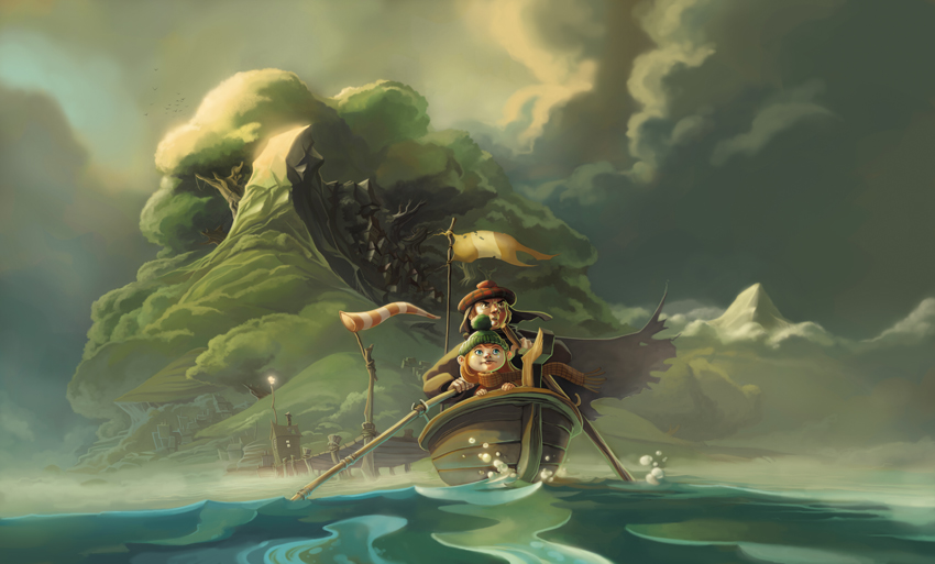 Island by Dibumac