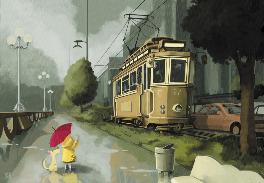 Little rain by Dibumac