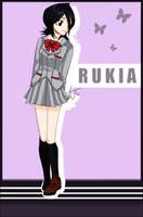 Rukia by aj-chan