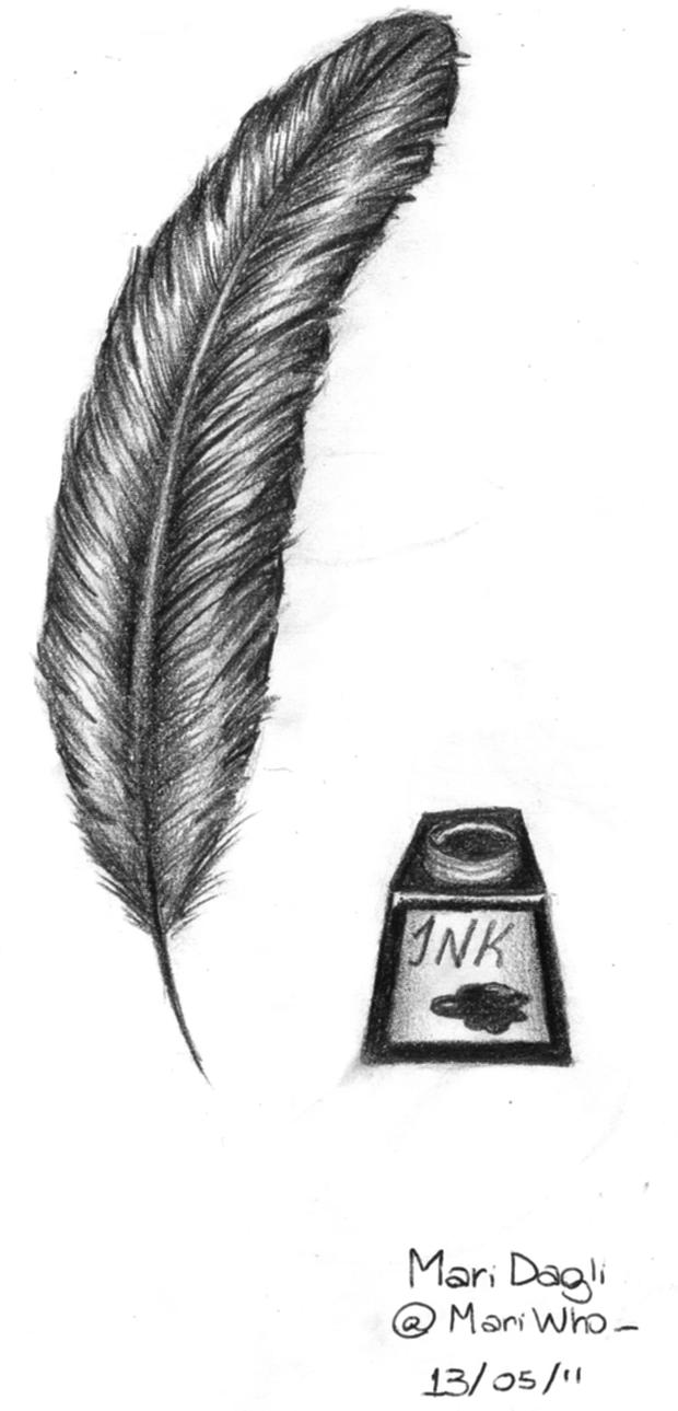 vintage peacock feather image