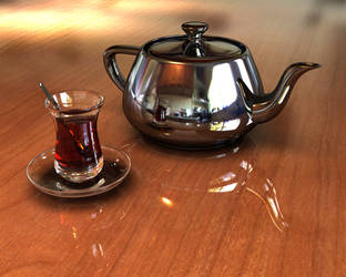 Turkish Tea And A Teapot v 3 by the-panther