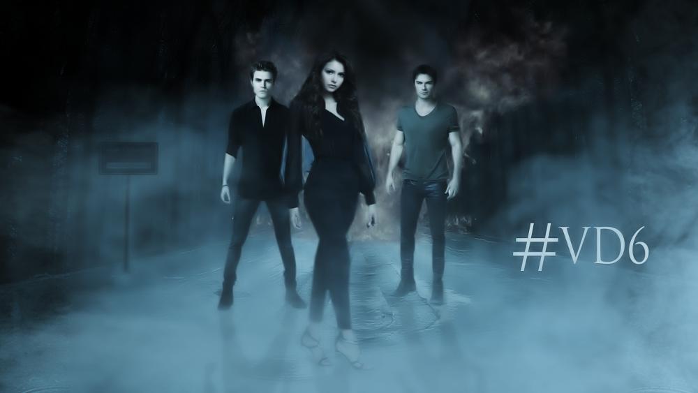 Vampire Diaries Netflix Poster The Vampire Diaries: S...