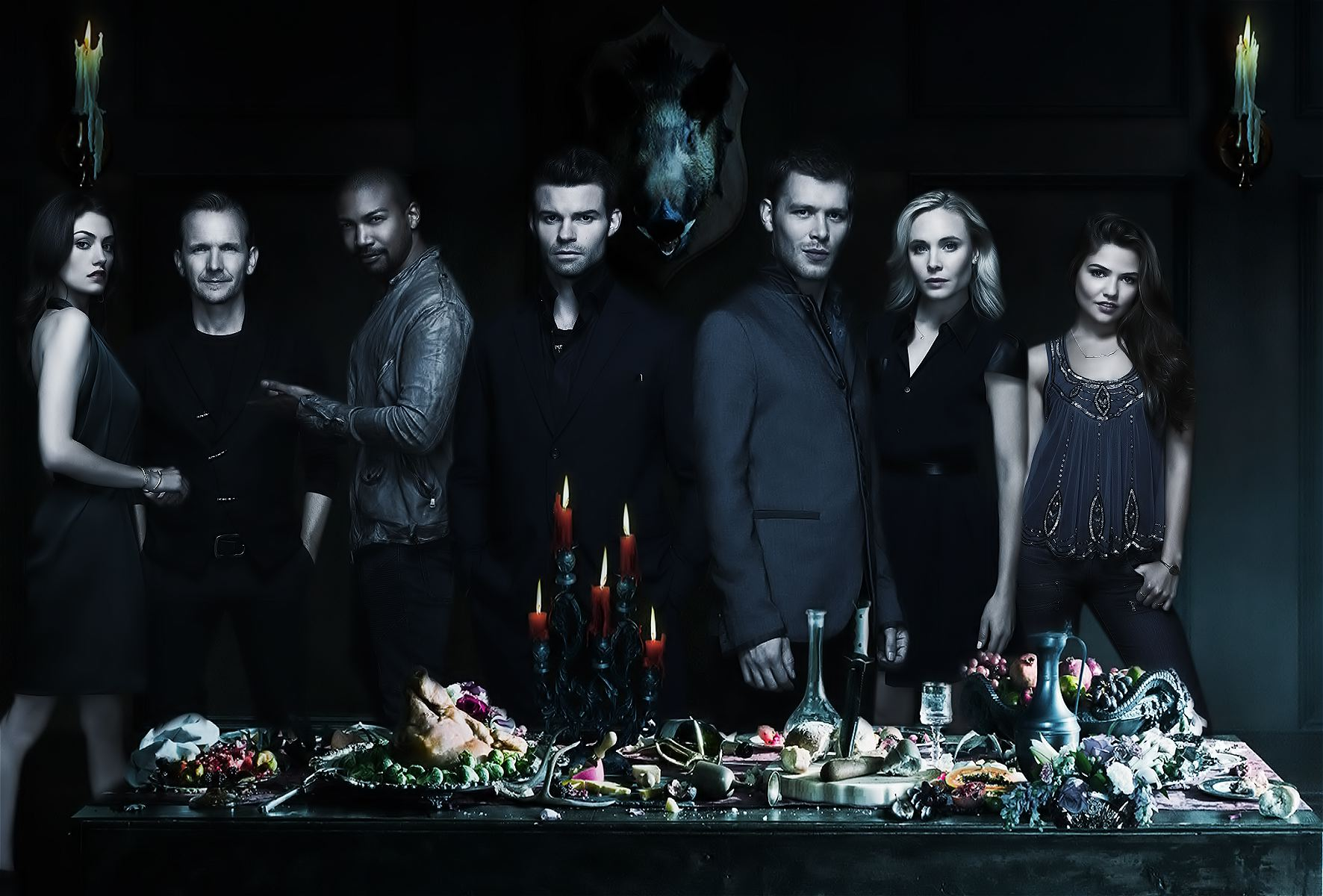 The Originals: Cast Portrait by MacSchaer on DeviantArt