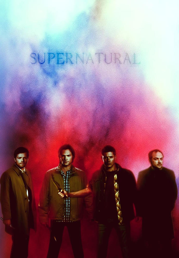 Supernatural: Season 10 Cast Promotional Poster by ...