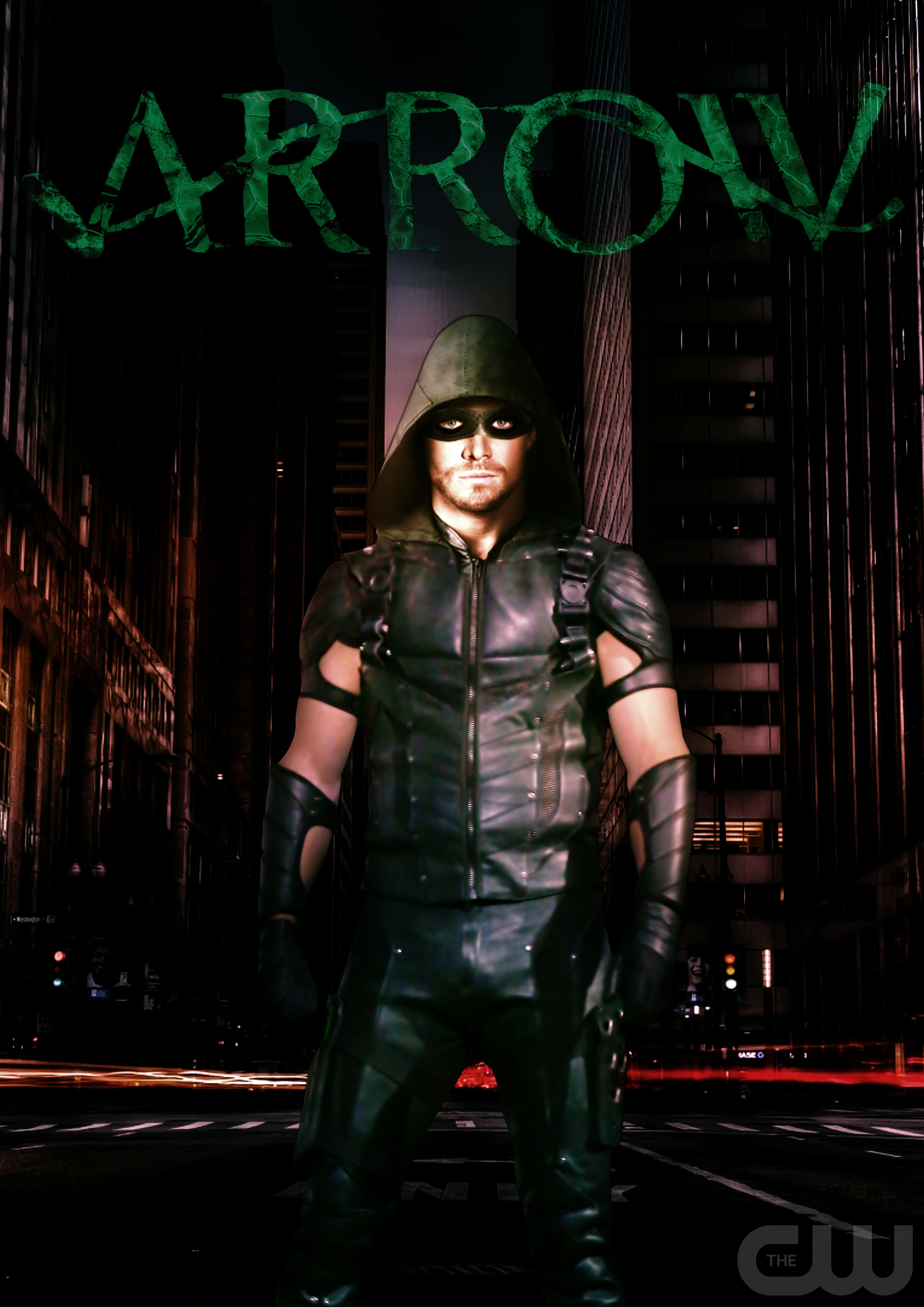Arrow Season 4 New Suit Poster By MacSchaer