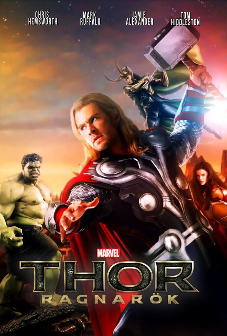 ผลการค้นหารูปภาพสำหรับ thor 2017 poster