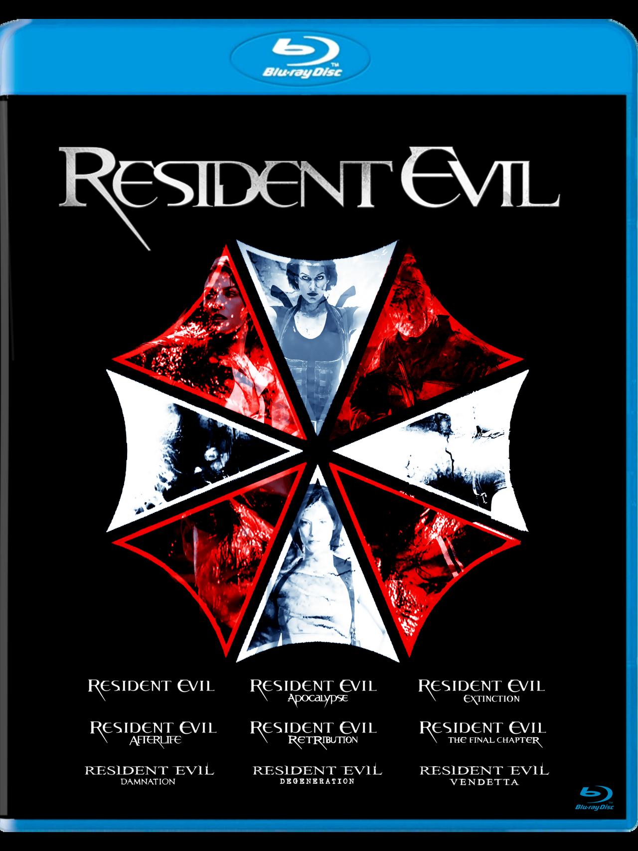 resident evil degeneration poster