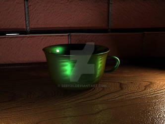 Green Cup by SeBy24