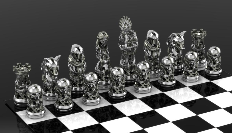 GoT Stark Chess Set By GeoSpooky ...