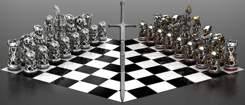 Got Chess Set By Geospooky On Deviantart