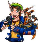 Karaoke Jak and Daxter - color