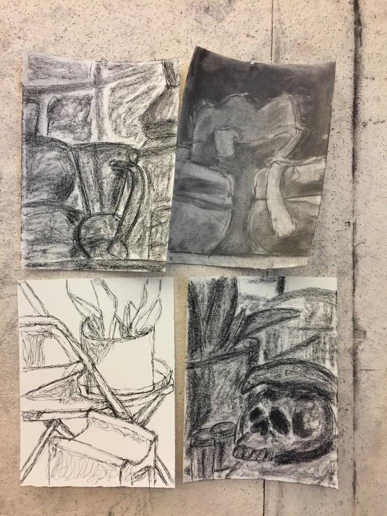 Gesture Drawings by EisKrake