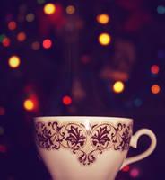 Cup of tea by Miiglea