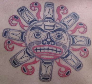 Haida Tatto on Haida Sun Tattoo By  Zephy Toshihiko On Deviantart