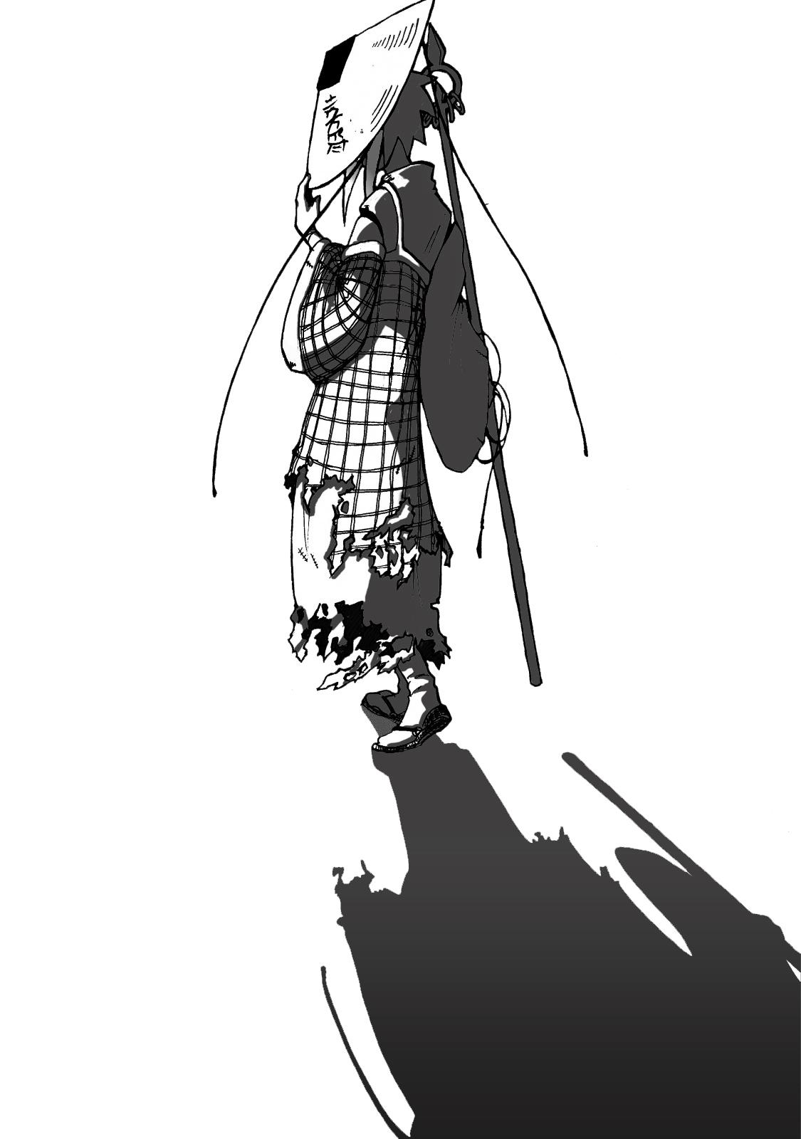 The lonesome warrior by cybersuzy