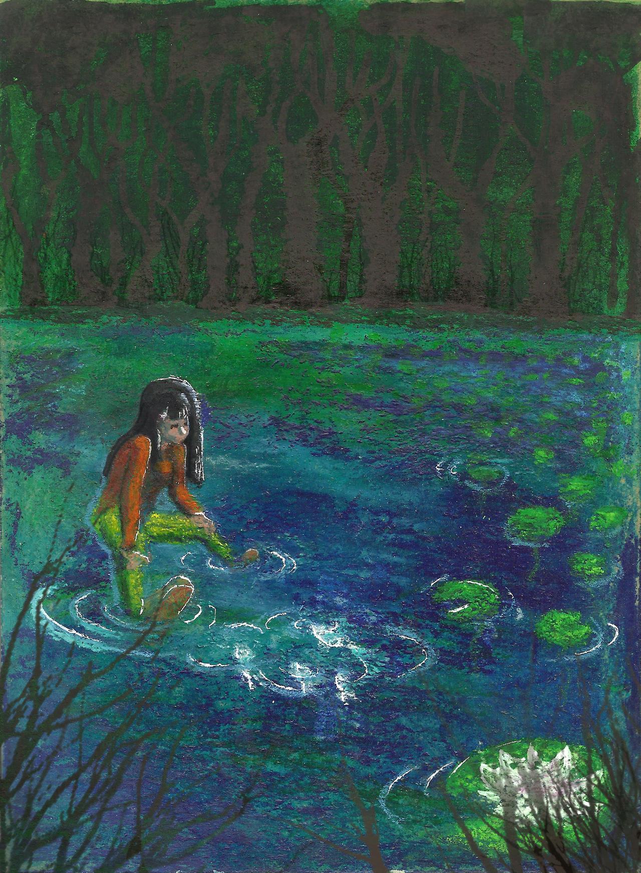 Water Lily by cybersuzy