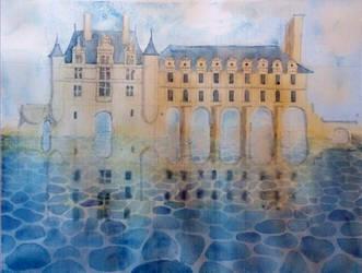 Chateau de Chenonceau by cybersuzy