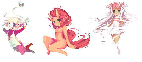 Pixel Batch 1 by Little-Miss-RiikoRed