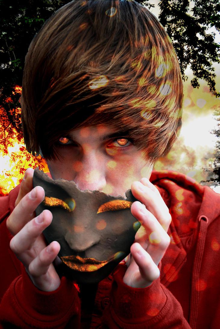 The man behind the mask by Kantsa