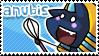 Anubis stamp by GothicVampireBleu