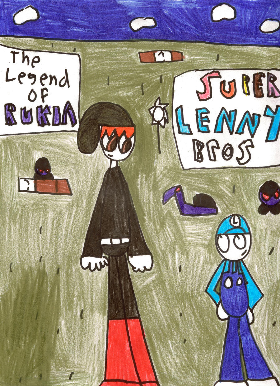 the legend of Rukia and super Lenny bros by LRW0077