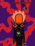 Cosmic Ghost Rider vs RWBY Poster by LRW0077