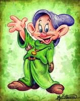 Dopey - Snow White by Man0uk