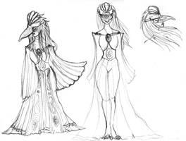 Fenix Priestess Concept 2