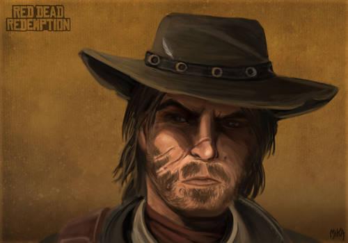 Red Dead John Marston