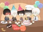 Happy Birthday! kaneki and Arima!~
