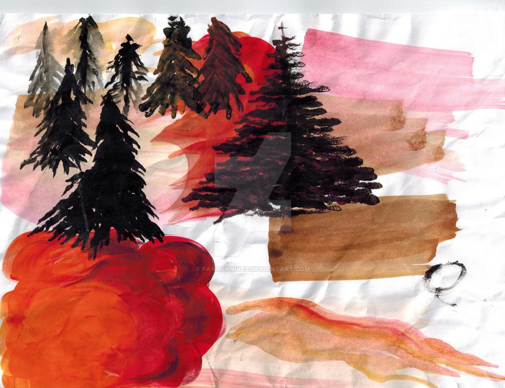 Tree Study by FanOfKnives