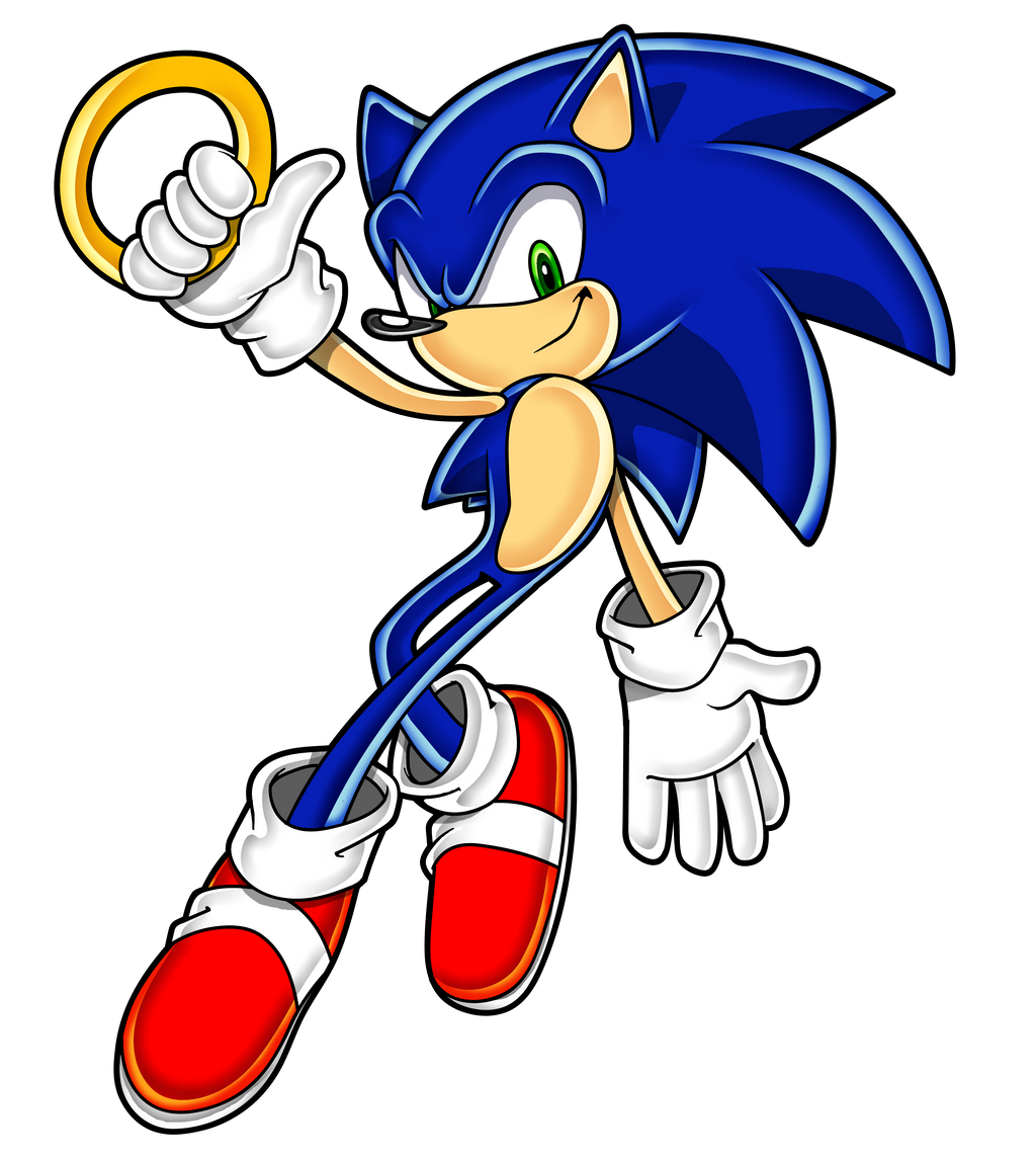 Sonic Adventure Style Shading 4 Thick Outline By Dannythecool123 On Deviantart