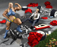 O Girl vs Bad Driver by Stone3D
